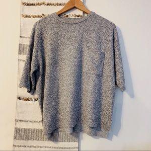 Zara • Gray Cashmere Soft Oversized Sweater